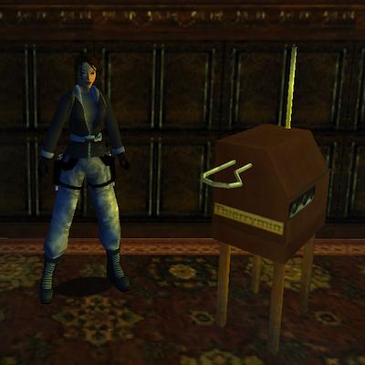 Lara Croft Theremin