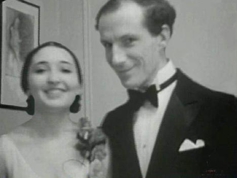 Clara Rockmore and Leon Theremin