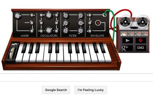 Google Doogle Synthesizer