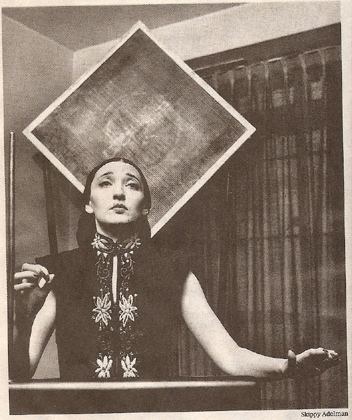 Clara Rockmore Undated Photo by Adelman